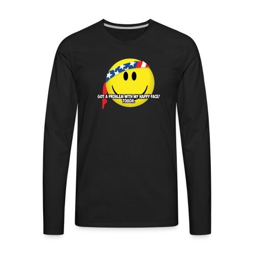 Happy Face USA - Men's Premium Long Sleeve T-Shirt