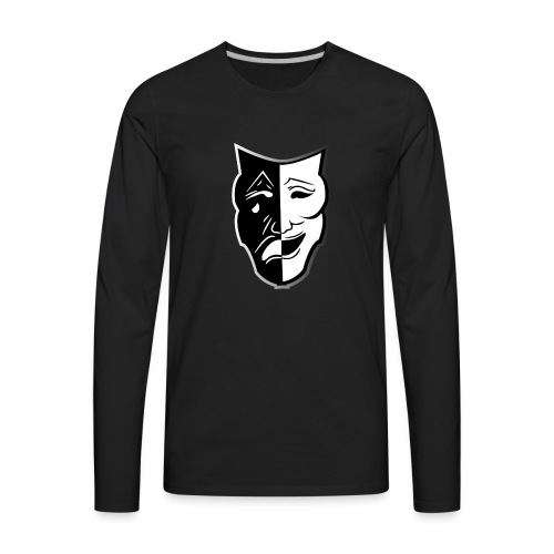 Irony eSports Varsity Jacket - Men's Premium Long Sleeve T-Shirt