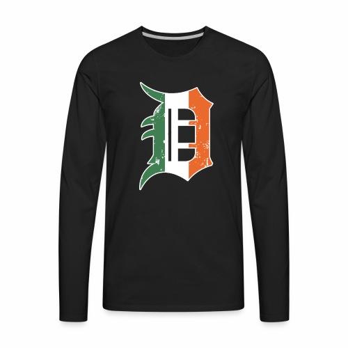 IRISH D - Men's Premium Long Sleeve T-Shirt