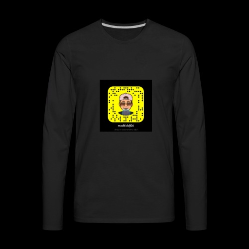 My snapchat - Men's Premium Long Sleeve T-Shirt