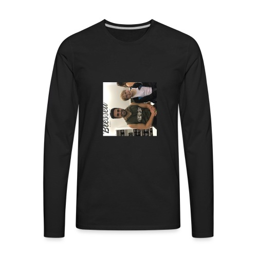 me with gorge janko - Men's Premium Long Sleeve T-Shirt