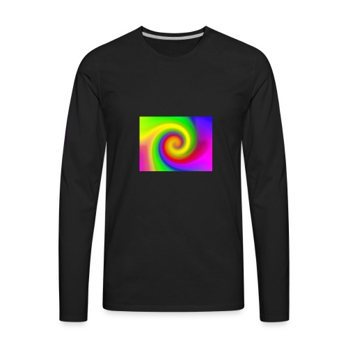 color swirl - Men's Premium Long Sleeve T-Shirt