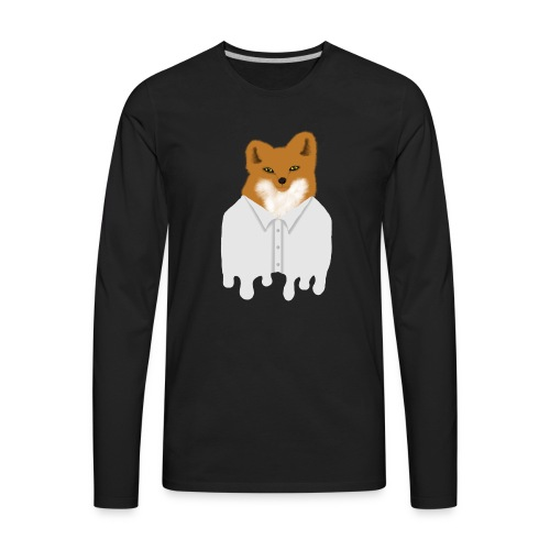 Fancy Fox - Men's Premium Long Sleeve T-Shirt