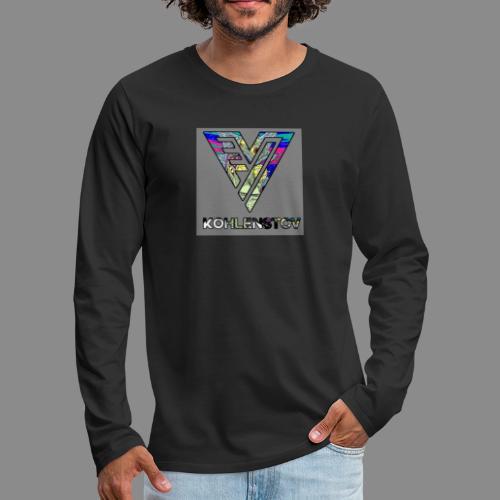 Acid Rick & Morty Vivid KohlenStov - Men's Premium Long Sleeve T-Shirt