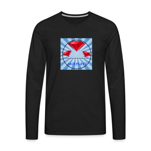 The official JacePlayzYT Shirt - Men's Premium Long Sleeve T-Shirt