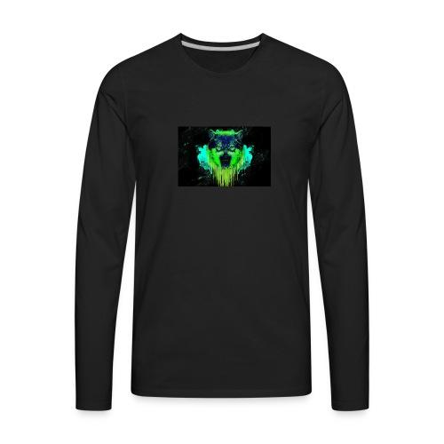 Neon Wolf - Men's Premium Long Sleeve T-Shirt