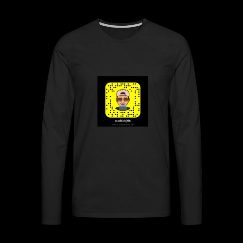 My snapchat - Men's Premium Long Sleeve T-Shirt