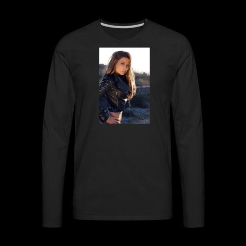 Rebecca Grant tuff and sexy - Men's Premium Long Sleeve T-Shirt