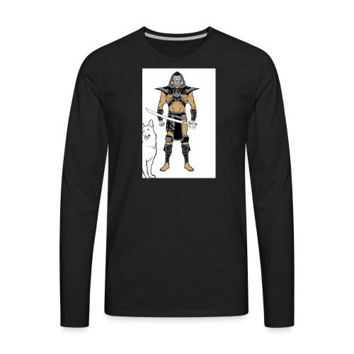 ninja 2 - Men's Premium Long Sleeve T-Shirt