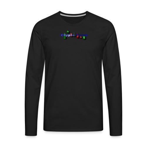 Crypto Force - Men's Premium Long Sleeve T-Shirt