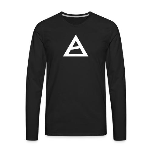 White Oliver Fatex Logo - Men's Premium Long Sleeve T-Shirt