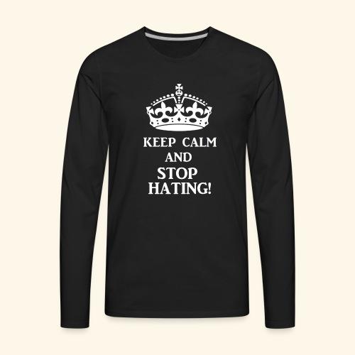 stoph8ingwht - Men's Premium Long Sleeve T-Shirt