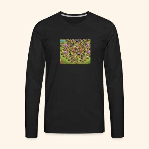 clash of popular - Men's Premium Long Sleeve T-Shirt
