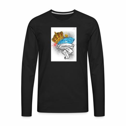 Diamonds Are Forever - Men's Premium Long Sleeve T-Shirt