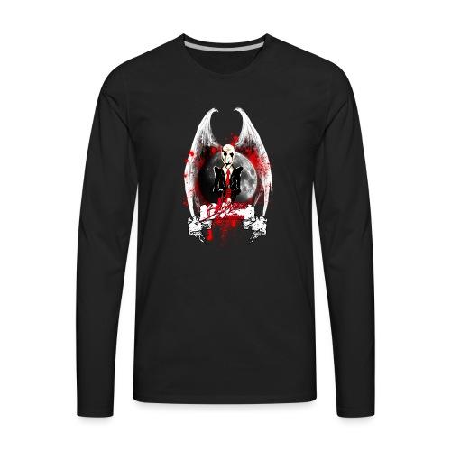 Evil Watcher - Men's Premium Long Sleeve T-Shirt