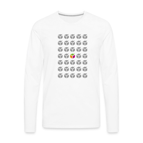 grid semantic web - Men's Premium Long Sleeve T-Shirt