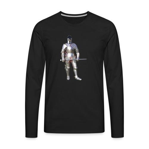Plate Armor Bring it men's standard T - Men's Premium Long Sleeve T-Shirt