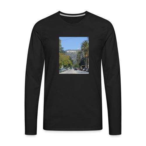 RockoWood Sign - Men's Premium Long Sleeve T-Shirt