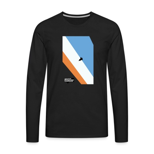 ENTER THE ATMOSPHERE - Men's Premium Long Sleeve T-Shirt