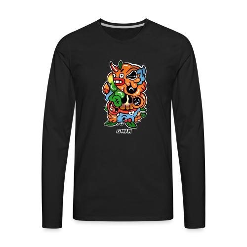 第一first - Men's Premium Long Sleeve T-Shirt