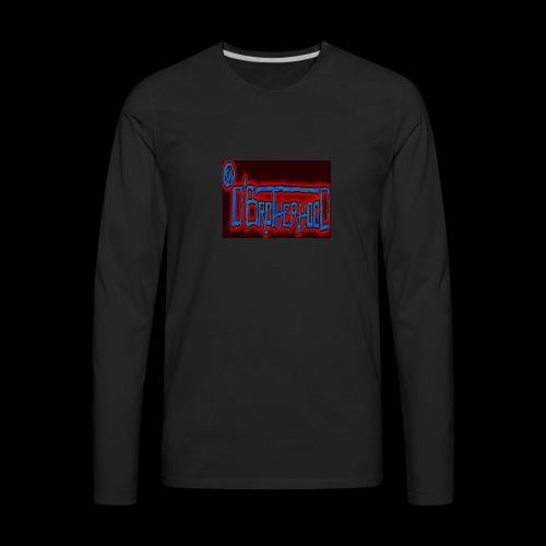 The D'BroTHerHooD Logo - Men's Premium Long Sleeve T-Shirt