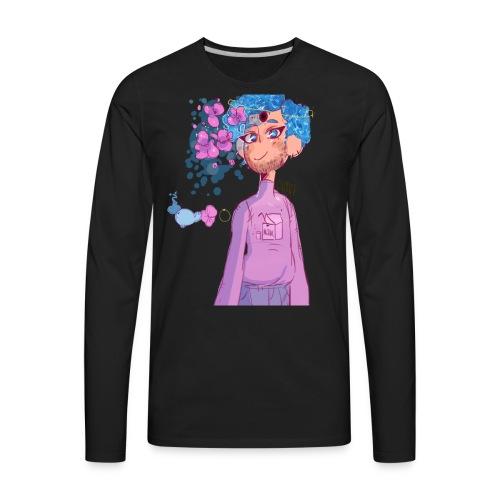 Pastel Whale Boy - Men's Premium Long Sleeve T-Shirt