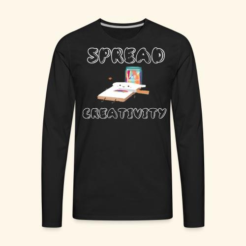 Spreading Creativity - Men's Premium Long Sleeve T-Shirt
