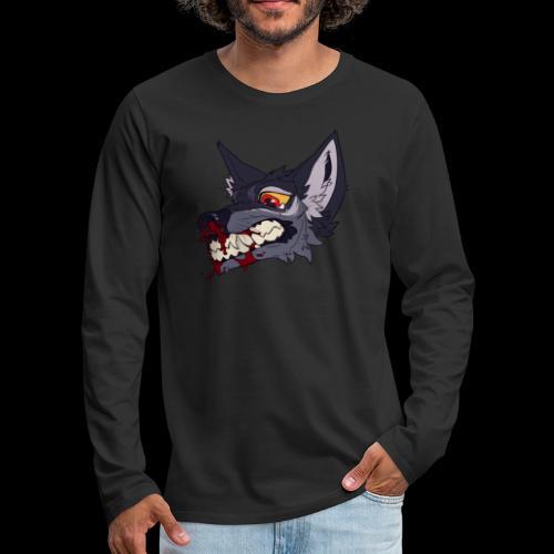 nosebleed - Men's Premium Long Sleeve T-Shirt