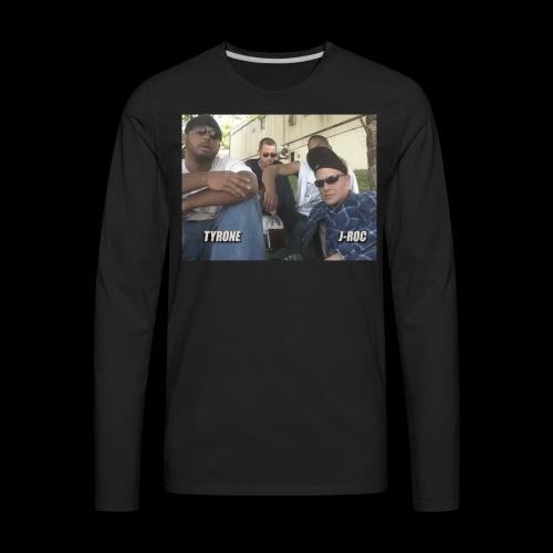 T and J-Roc Trailer Park Boys - Men's Premium Long Sleeve T-Shirt