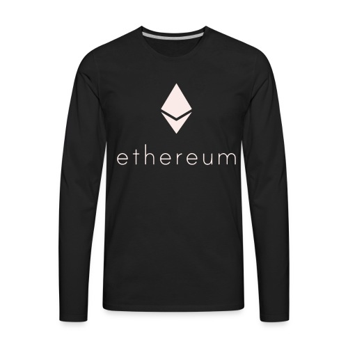Ethereum - Men's Premium Long Sleeve T-Shirt