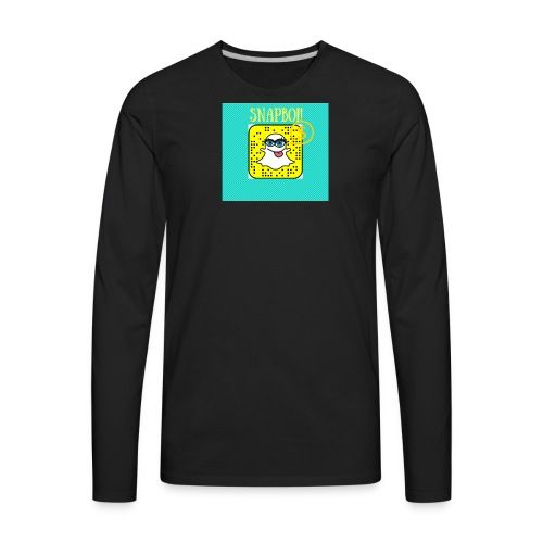SNAPBOI - Men's Premium Long Sleeve T-Shirt