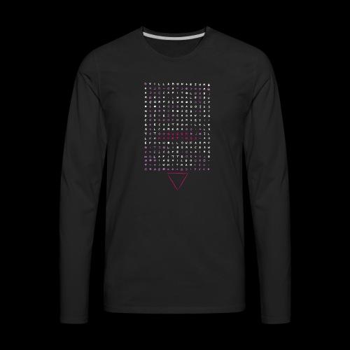 Queer Hauntings Zodiac - Men's Premium Long Sleeve T-Shirt