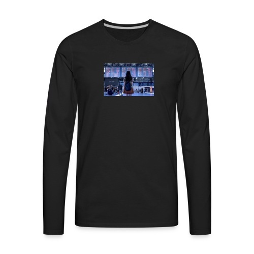 V - Men's Premium Long Sleeve T-Shirt