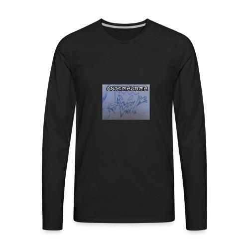 ANTICHURCH - Men's Premium Long Sleeve T-Shirt