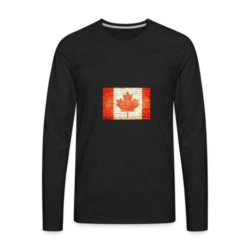 Canada flag - Men's Premium Long Sleeve T-Shirt