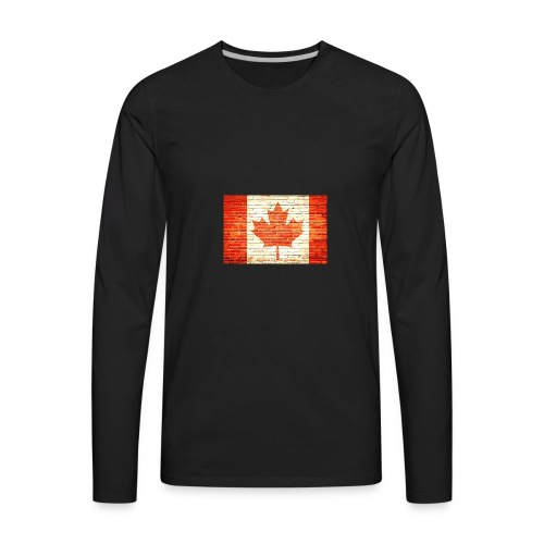 Canada flag - Men's Premium Long Sleeve T-Shirt
