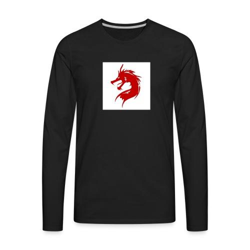 team fire dragon - Men's Premium Long Sleeve T-Shirt