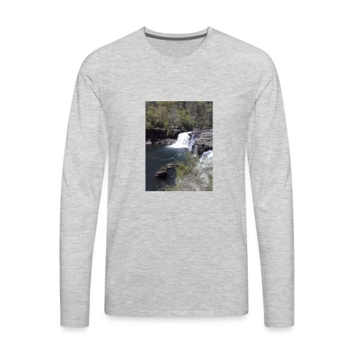 LRC waterfall - Men's Premium Long Sleeve T-Shirt