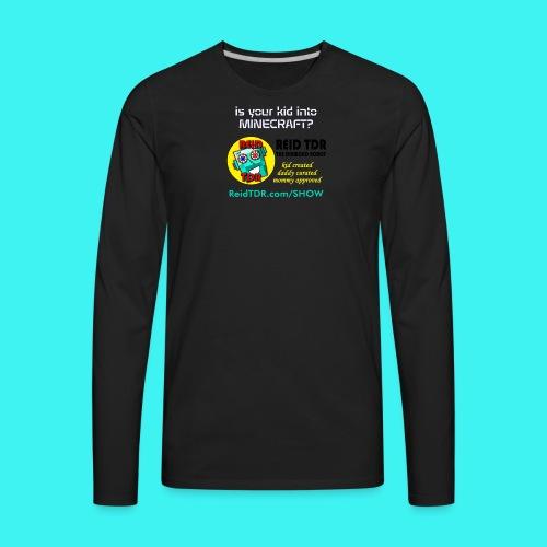 TDR Family Red TShirt - Men's Premium Long Sleeve T-Shirt