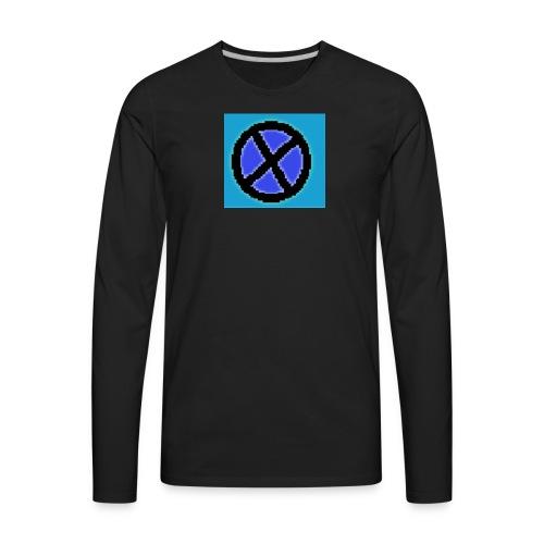 Xaviergamer symbol - Men's Premium Long Sleeve T-Shirt