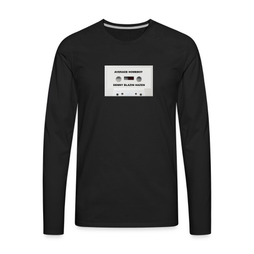 Average Homeboy Demo T-Shirt - Men's Premium Long Sleeve T-Shirt
