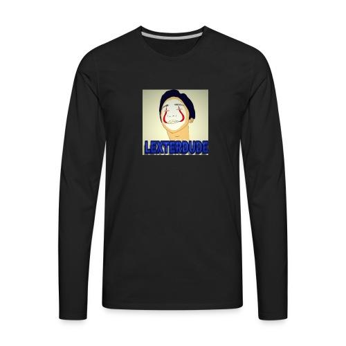 LEXTERDUDE MERCH - Men's Premium Long Sleeve T-Shirt