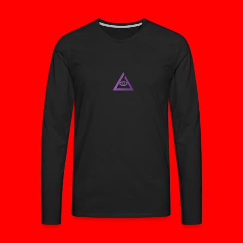keyzzi tie-die t-shirt - Men's Premium Long Sleeve T-Shirt