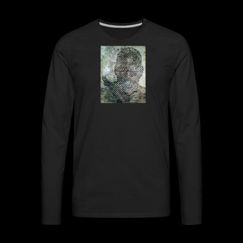 My Hustle like - Men's Premium Long Sleeve T-Shirt