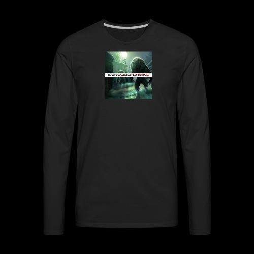 WerewolfGaming Merch - Men's Premium Long Sleeve T-Shirt