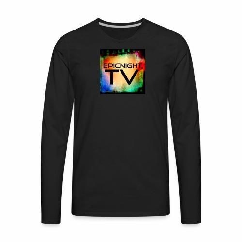EPICNIGHT.TV - Men's Premium Long Sleeve T-Shirt