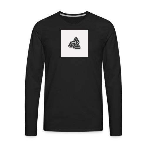 Triple Cube - Men's Premium Long Sleeve T-Shirt