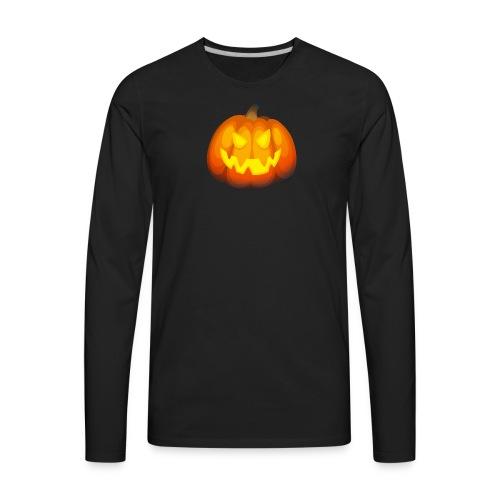 Pumpkin Halloween party T-shirt - Men's Premium Long Sleeve T-Shirt