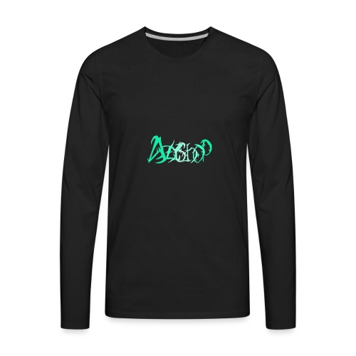 The logo of azyshop - Men's Premium Long Sleeve T-Shirt
