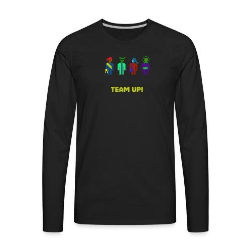 Spaceteam Team Up! - Men's Premium Long Sleeve T-Shirt